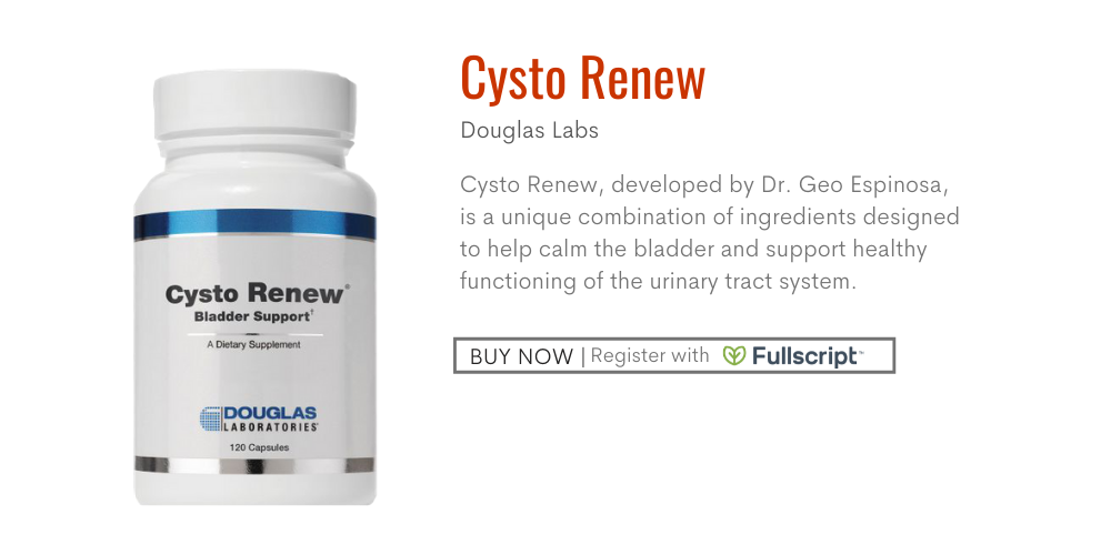 DR.GEO's Supplements BUNDLE-12-CYSTO